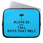 [Two hearts] i #love b5 hot tall boys that melt  Laptop/netbook Sleeves Laptop Sleeves
