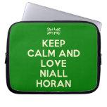 [UK Flag] keep calm and love niall horan  Laptop/netbook Sleeves Laptop Sleeves