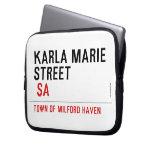 Karla marie STREET   Laptop/netbook Sleeves Laptop Sleeves