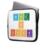 Wine o clock  Laptop/netbook Sleeves Laptop Sleeves