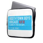 boothtown boys  brigade  Laptop/netbook Sleeves Laptop Sleeves