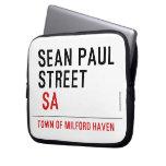 Sean paul STREET   Laptop/netbook Sleeves Laptop Sleeves