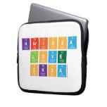 Karissa Love Oksa  Laptop/netbook Sleeves Laptop Sleeves