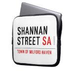 Shannan Street  Laptop/netbook Sleeves Laptop Sleeves
