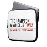 the Hampton  MWB Club  Laptop/netbook Sleeves Laptop Sleeves