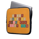 Happy  Periodic  Table Day Fellow Nerds  Laptop/netbook Sleeves Laptop Sleeves