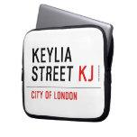 Keylia Street  Laptop/netbook Sleeves Laptop Sleeves