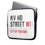 KV HD Street  Laptop/netbook Sleeves Laptop Sleeves