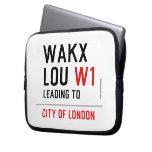WAKX LOU  Laptop/netbook Sleeves Laptop Sleeves