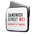 Sandwich Street  Laptop/netbook Sleeves Laptop Sleeves