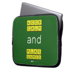 KEEP CALM and PLAY GAMES  Laptop/netbook Sleeves Laptop Sleeves