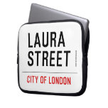 Laura Street  Laptop/netbook Sleeves Laptop Sleeves