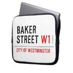 baker street  Laptop/netbook Sleeves Laptop Sleeves