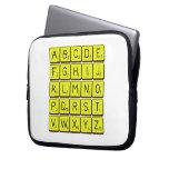 ABCDE FGHIJ KLMNO PQRST VWXYZ  Laptop/netbook Sleeves Laptop Sleeves