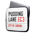 PUDDING LANE  Laptop/netbook Sleeves Laptop Sleeves