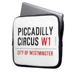 piccadilly circus  Laptop/netbook Sleeves Laptop Sleeves