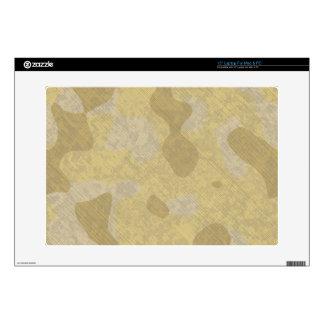 Laptop skin desert ground forces camouflage