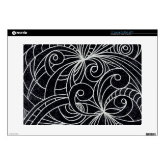 Laptop Skin Floral abstract background