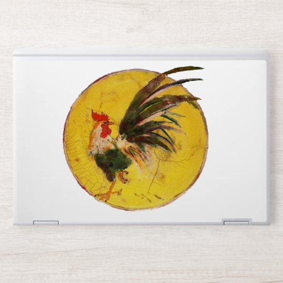 Laptop Skin - Morning Rooster and Sun