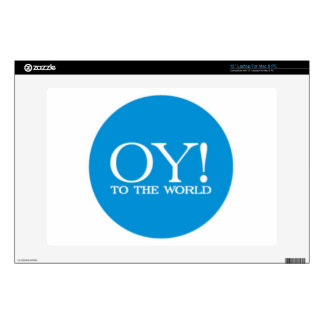 Laptop Skin - OY TO THE WORLD