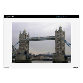 Laptop skin with Tower Bridge over the Thames