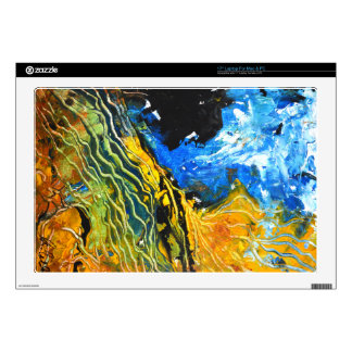Laptop Skins - Abstract Land Lines