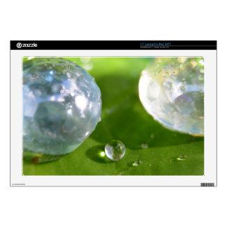 Laptop Skins - Bubbles & Rain Drops