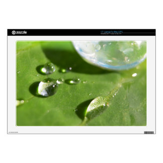 Laptop Skins - Bubbles & Rain Drops 3