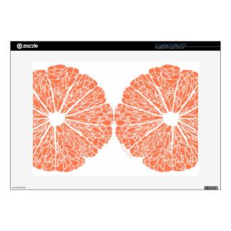 Laptop Skins - Grapefruit to Suit