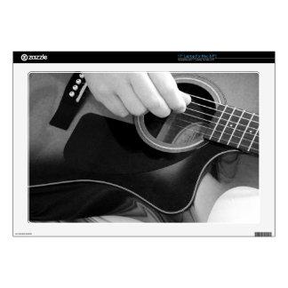Laptop Skins - Guitar Playing 1