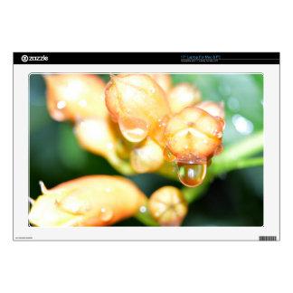 Laptop Skins - Honeysuckle and Rain Drops