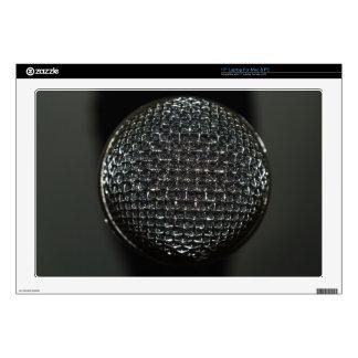Laptop Skins - Microphone Close Up 2