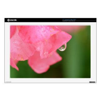 Laptop Skins - Oleander Rain Drop