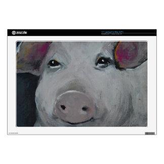 Laptop Skins - Pink Pig