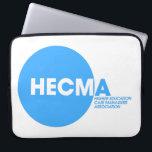 "Laptop Sleeve<br><div class=""desc"">Neoprene laptop sleeve - with HECMA logo</div>"
