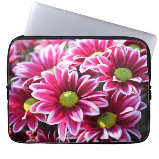 """Laptop Sleeve 13-14"""" - Pink Flowers"""