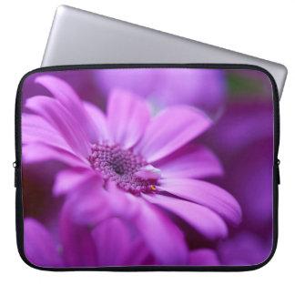 "Laptop Sleeve 15"" - Purple Flower"