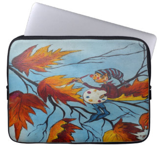 Laptop Sleeve Ann Hayes Painting Pixie Painting