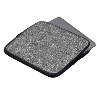 Laptop Sleeve Black And White Network