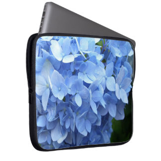 Laptop Sleeve - Blue Hydrangea