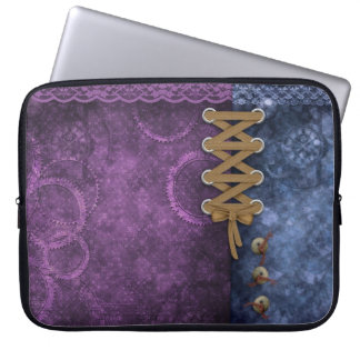 Laptop Sleeve - Buttoned Up, by GalleryGifts