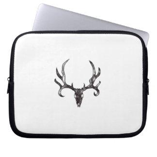 Laptop Sleeve Deer Horns Hunting