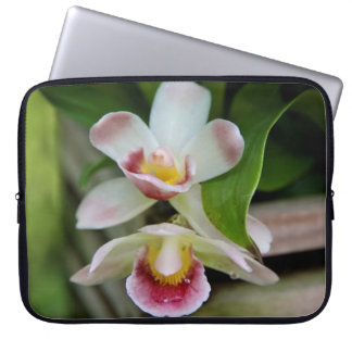 Laptop Sleeve - Fan Shaped Orchid