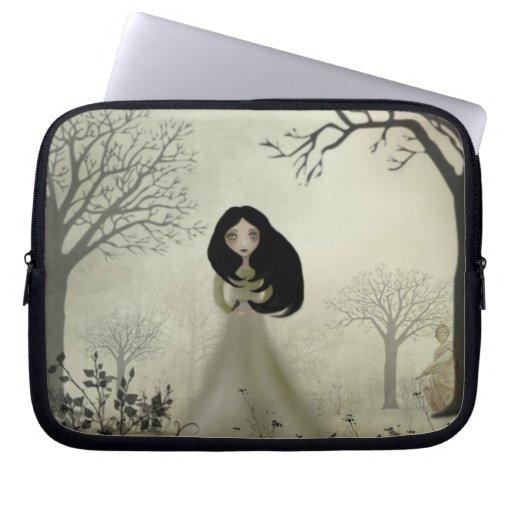 Laptop Sleeve Melancholy Girl
