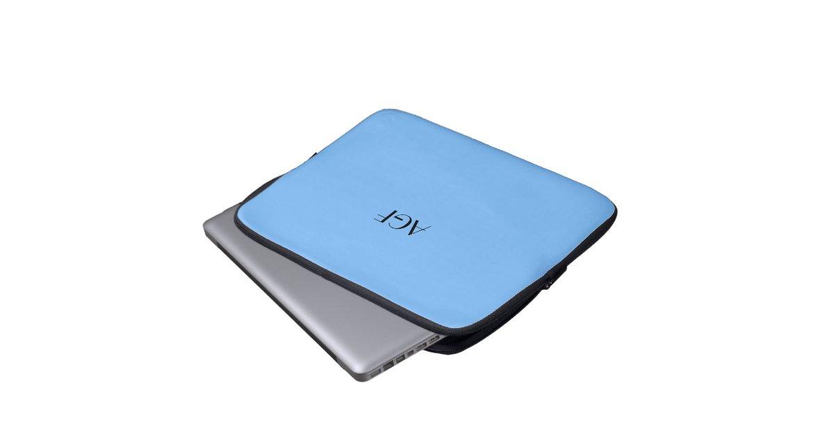 Laptop Sleeve Monogram For 13 Quot Laptop 0151 Zazzle