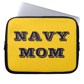 Laptop Sleeve Navy Mom