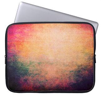 Laptop Sleeve Neoprene Abstract Lovely Grunge