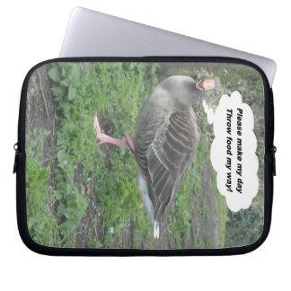 Laptop Sleeve Poem Duck Quote Ladee Basset
