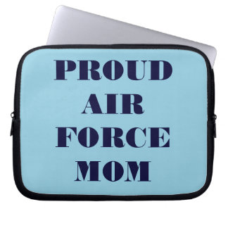 Laptop Sleeve Proud Air Force Mom