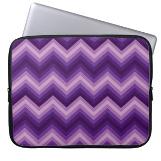 LapTop Sleeve Retro Zig Zag Chevron Pattern